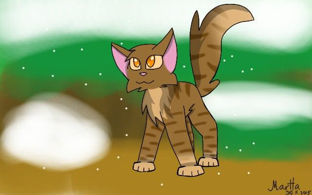 Bramblepaw from Warrior Cats