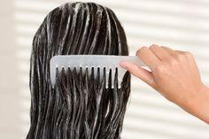 Haarkur gegen spröde Haare
