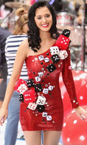 Katy perry crazy dress