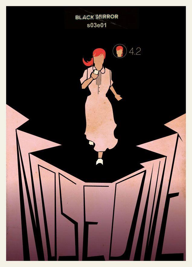 Posters Minimalistas de Black Mirror