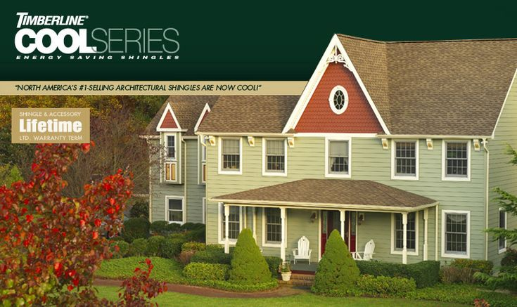 GAF Timberline Cool Series - Energy Star Rated Shingles