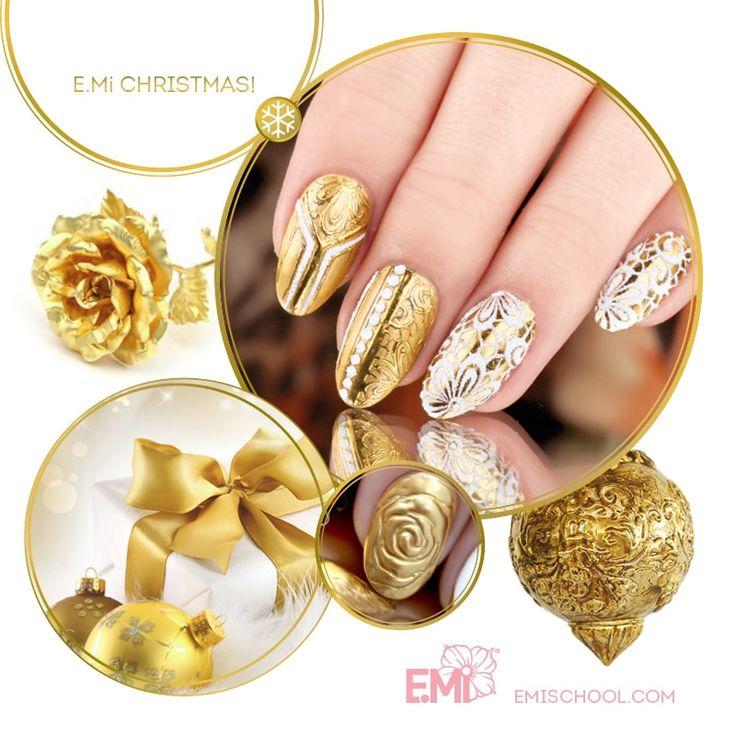 xmas design of nail art of EMi #Emimanicure • xmas nails easy • xmas nails designs • xmas nails art • xmas nails winter • xmas nails red • xmas nails shellac • xmas nails blue • xmas nails glitter • xmas nails simple • xmas nails sparkly • xmas nails diy • xmas nails black • xmas nails pink