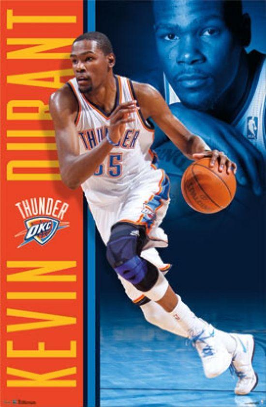 Kevin Durant - 2013 Poster Print (24 x 36) - Item # PYR6002 - Posterazzi