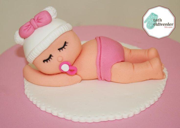 Baby shower / doğumgünü / pasta siparişi / caketopper / baby shower pastası /baby shower partisi / baby / şeker hamuru pasta / fondant cake