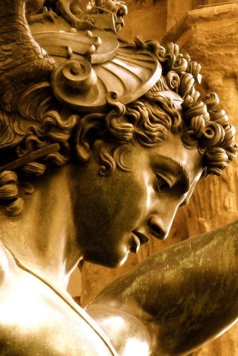 "wasbella102: Benvenuto Cellini ""Perseus with the Head of Medusa"" Bronze ~ Florence"