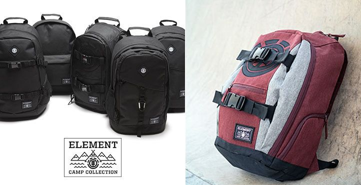 Element Backpacks, Element Mohave, Element camp collection