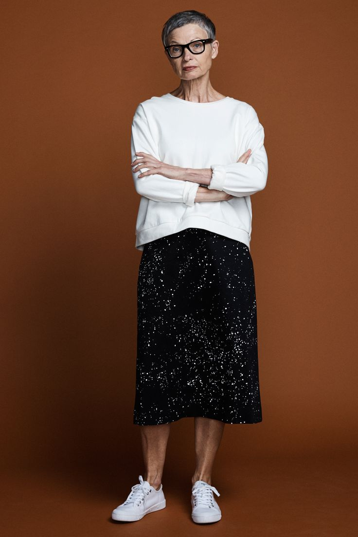 County A-Line Skirt - Galaxy Print