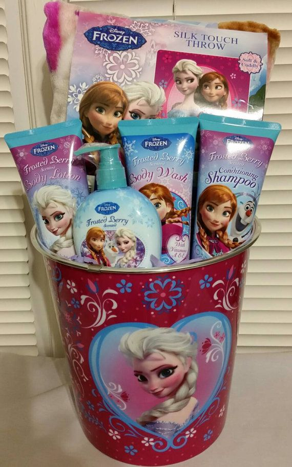 Check out this item in my Etsy shop https://www.etsy.com/listing/204064145/disney-frozen-gift-basket