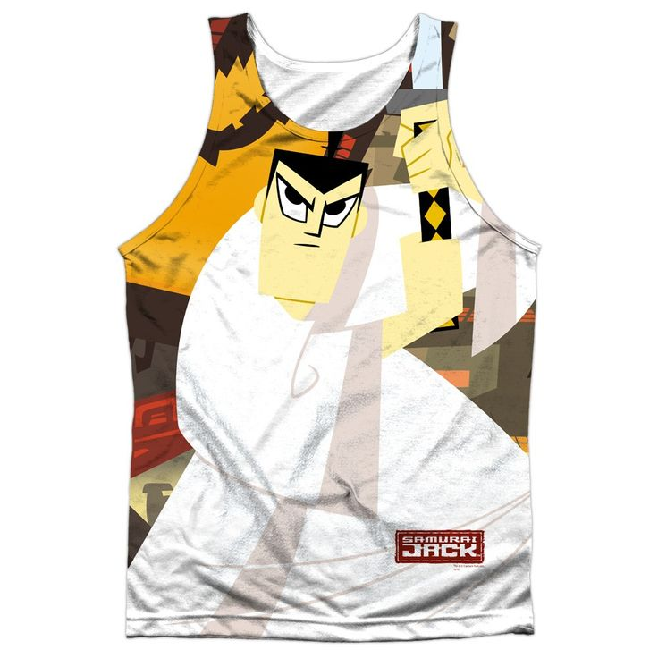 """Checkout our #LicensedGear products FREE SHIPPING + 10% OFF Coupon Code """"Official"""" Samurai Jack/eternal Foes-adult 100% Poly Tank T- Shirt - Samurai Jack/eternal Foes-adult 100% Poly Tank T- Shirt - Price: $24.99. Buy now at https://officiallylicensedgear.com/samurai-jack-eternal-foes-adult-100-poly-tank-shirt-licensed"""