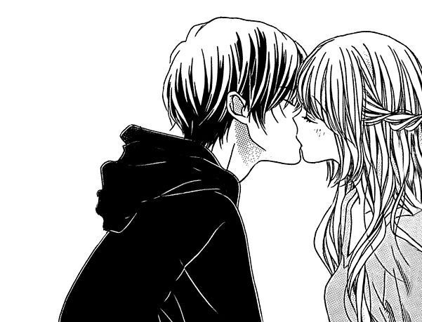 anime-kiss-blonde-black