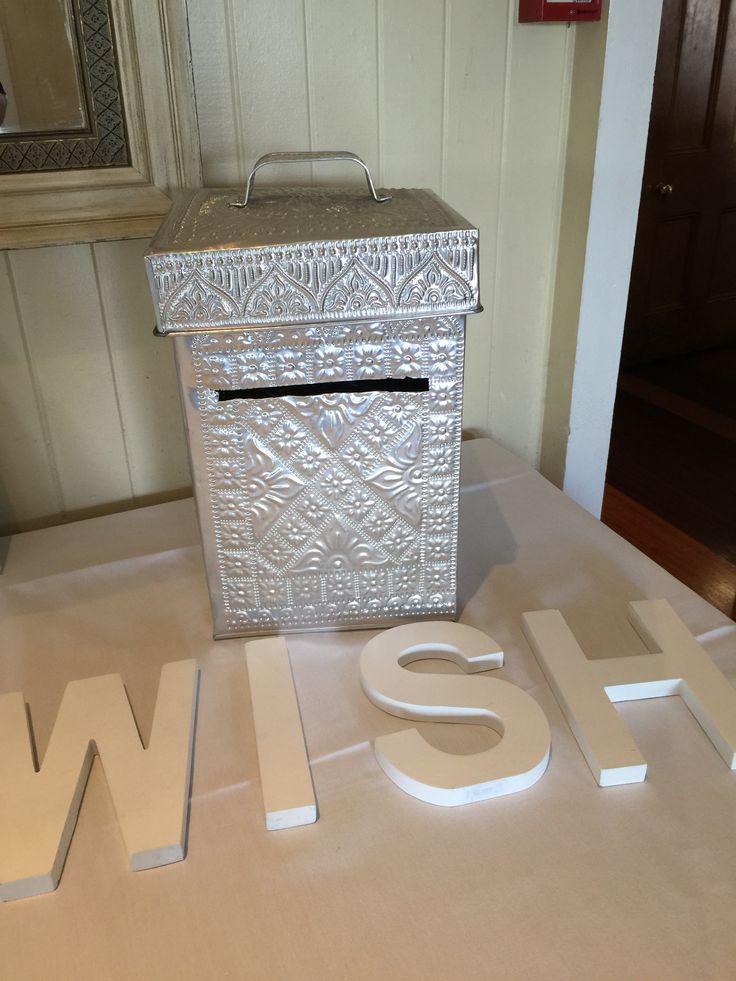 Wishing well for wedding ceremony #wishingwell #celebrantbrisbane