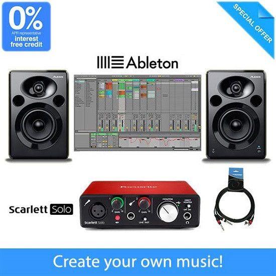Beginner Music Production Equipment Package
