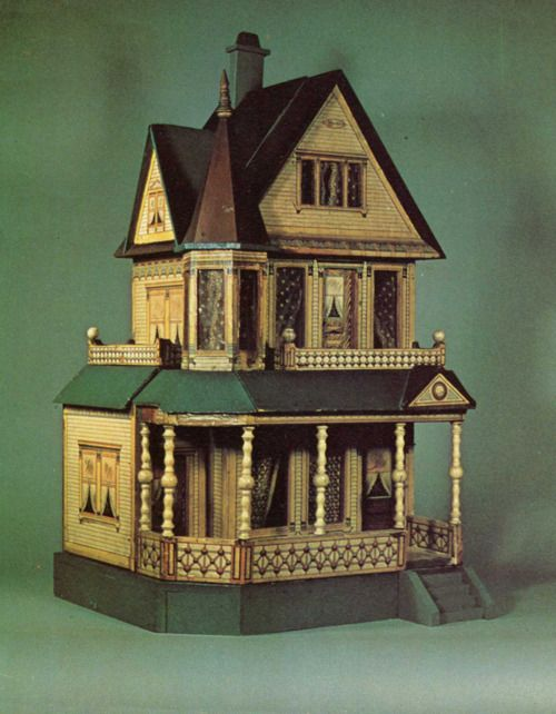 1000 Images About Doll House Exterior On Pinterest