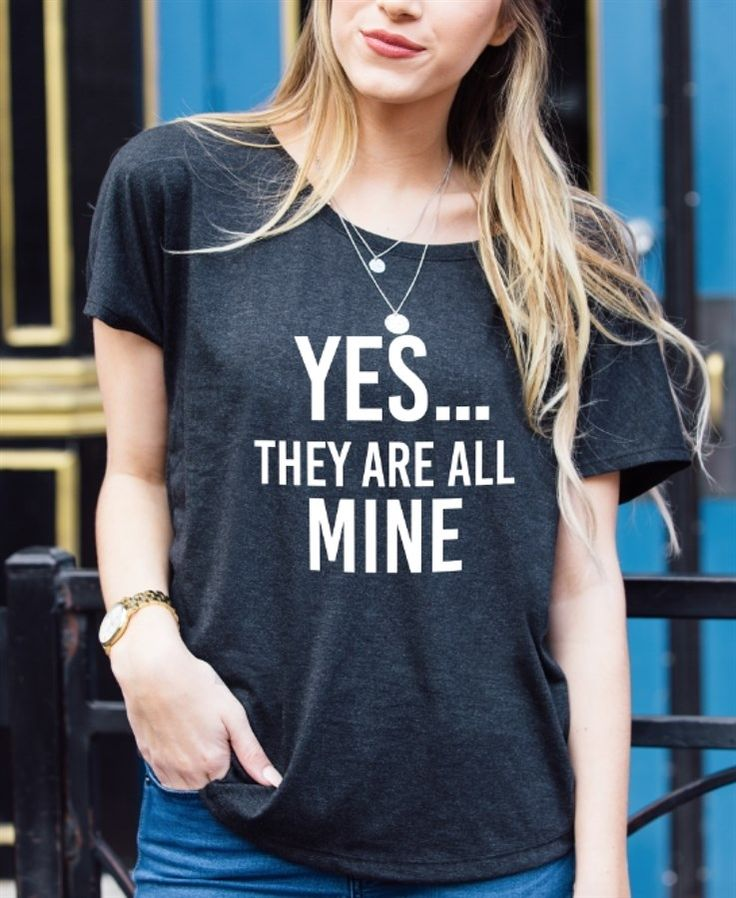 Dress them up or down, these dolman tees are the perfect accent to any Mom outfit!