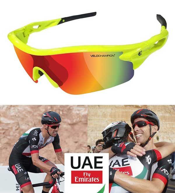Gafas de sol para ciclismo VeloChampion Warp 3 lentes | LATIDOS- La Tienda de Oscar online ropa ciclismo equipaciones LATIDOS- La Tienda de Oscar online ropa ciclismo equipaciones