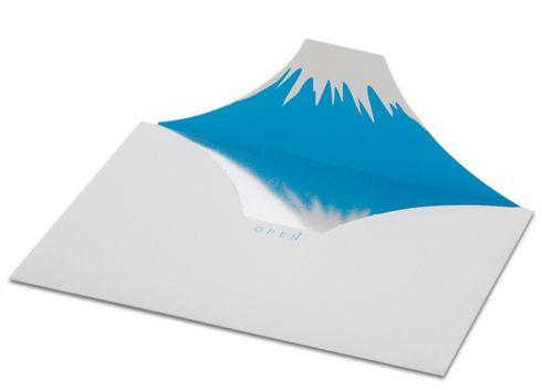 封筒を開けたら、そこに富士山があったんだ。Mt.envelope - まとめのインテリア / デザイン雑貨とインテリアのまとめ。