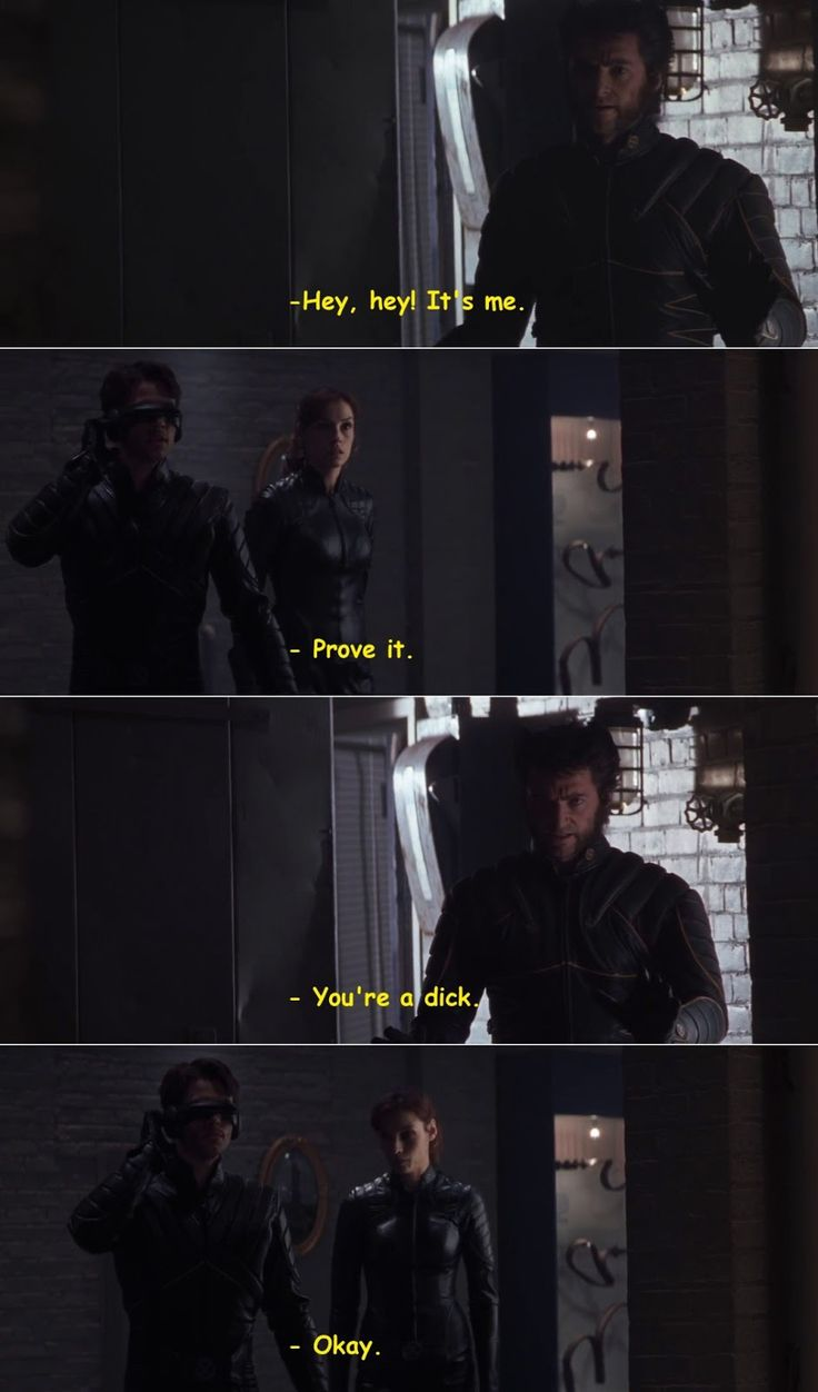 Quotes from X-Men (2000) Movie
