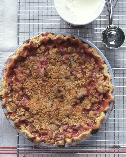 Rhubarb Pie Recipe -- this classic pie recipe will remind ...