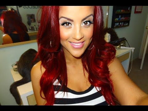 HOW I: Refresh My Red ( Root Touchup) + Red Hair Update - YouTube