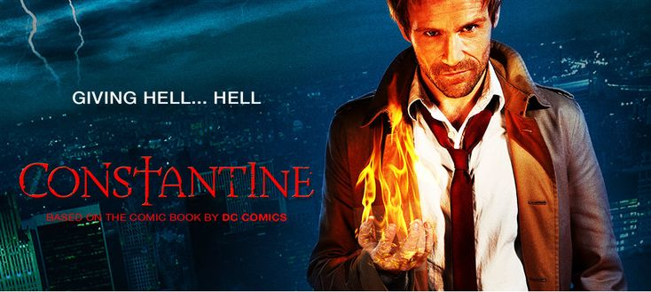 Constantine TV Show Trailer is Pretty dam COOL!