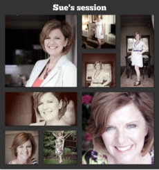 """Sue: Before & After. Sue wanted to update her look for a visit to her sister in the US and booked a 'Style & Snap' session with myself and photographer Kate Darkins.     I did the styling, Kate did the snapping and Sue just looked stunning!     Sue said: ...""""I felt really glamorous after my makeover"""" and... """"the benefit of learning how to style yourself will stay with you """"    Why not treat yourself or a loved one to this special session. Get your best you, captured on film!"""