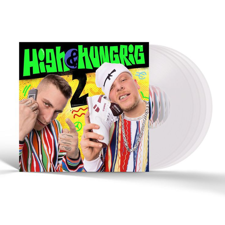 Gzuz & Bonez MC - High & Hungrig 2 hhv.de Exclusive Clear Vinyl Edition - Vinyl 4LP - 2016 - DE - Original | hhv.de
