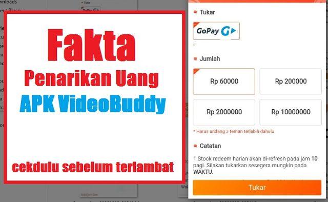 Doni A Nugroho Fakta Terbaru Penarikan Uang Di Apk Videobuddy Aplikasi Tahu Uang