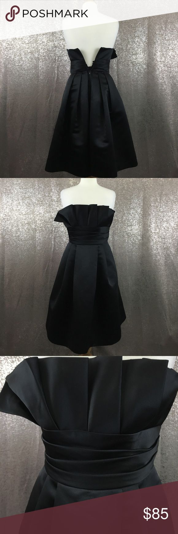 Priscilla of Boston strapless LBD cocktail dress In excellent condition with no flaws, too small for the mannequin (zipper works fine!)   NO TRADES. NO HOLDS. NO LOWBALLERS. NO NONSENSE priscilla of boston Dresses Wedding