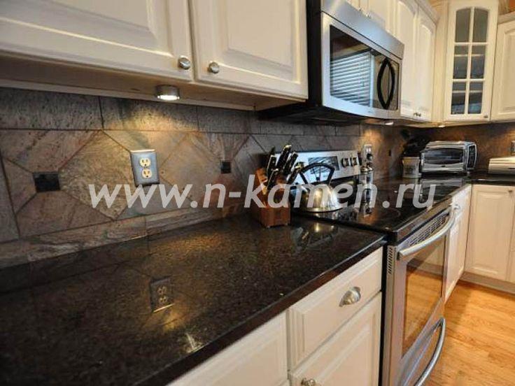 Столешницы из натурального камня для кухни: цены, фото   Кухонные столешницы из натурального камня от производителя - n-kamen