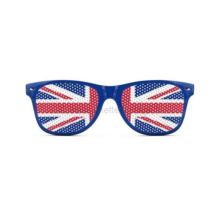 Lunettes spéciale coupe du monde au brésil, drapeau Royaume Uni #flag #sunglasses #wordcup #coupedumonde #lunettes #UK