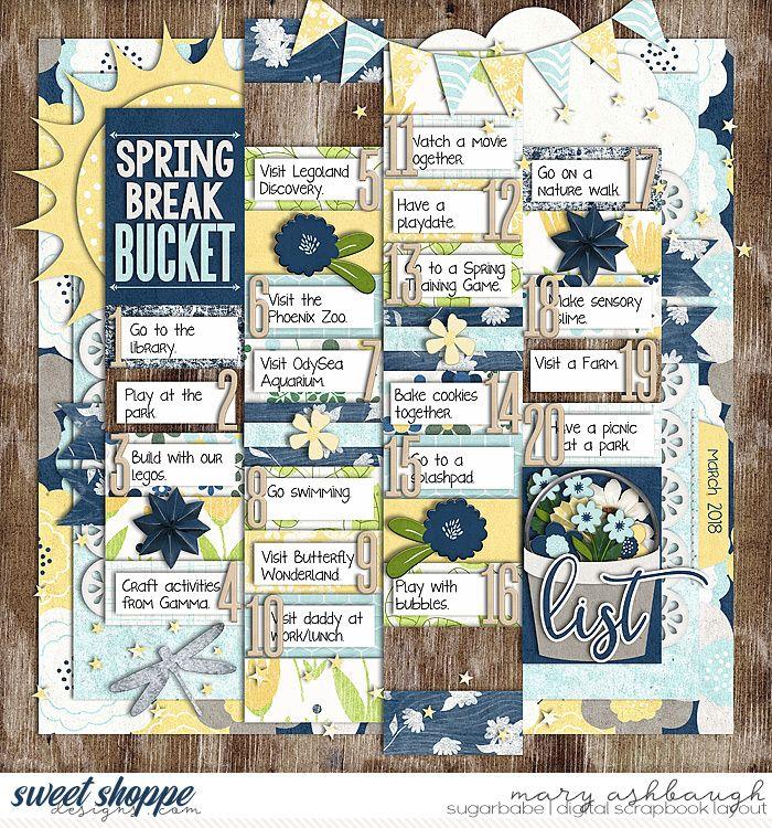 how to make a bucket list scrapbook