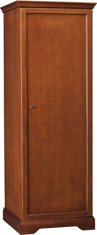 Hawthorne Single Door Wardrobe, C1010 by Hekman | BizChair.com