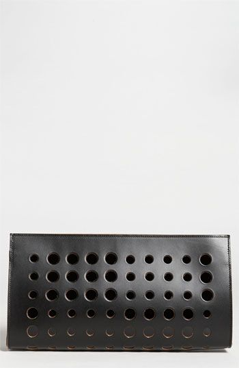 Marni | Polka Dot Leather Clutch