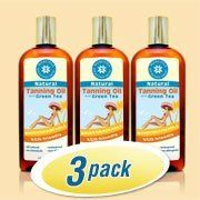 Mercola Natural Tanning Oil 3 Pack by Mercola. $33.92. 100% biodegradable and eco-friendly. Completely hypoallergenic. No chemical preservatives, including zero parabens. 100% natural, including green tea extract to reduce sunburn risk. Waterproof. Natural Tanning Oil (8fl oz per bottle)  Many of the most popular products on the market today contain ingredients that you probably would NEVER consider putting on your skin if you knew what they really were.  And, believe it or not,...