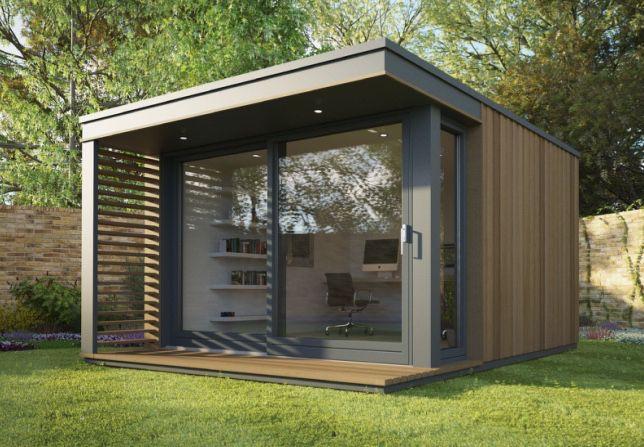 Mini pod garden office http pod for Garden office space