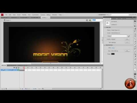 Adobe Flash CS5 Transition Effect Slideshow (part 2) - YouTube