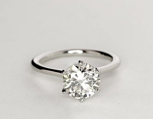 2 Carat Diamond Petite Nouveau Six-Prong Solitaire Engagement Ring | Recently Purchased | Blue Nile