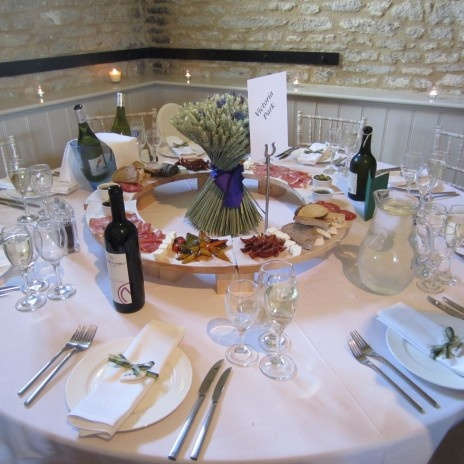 Table Centres From Shropshire Petals Wedding Ideas