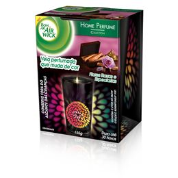 Vela Perfumada Black Edition Flores Roxas e Especiarias