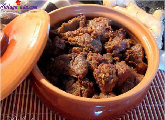 Hướng dẫn làm món thịt bò kho gừng sả ngon tuyệt - sotaynauan.com