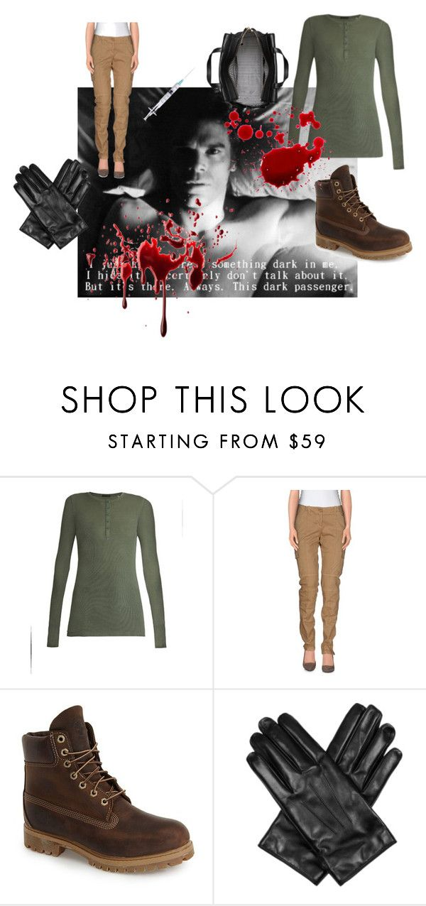 """""""Dexter Morgan - halloween costume"""" by caffeinomaneanonima on Polyvore featuring moda, ATM by Anthony Thomas Melillo, G.SEL, Timberland, Lanvin, Kate Spade, Halloween, dressup, cosplay e Dexter"""