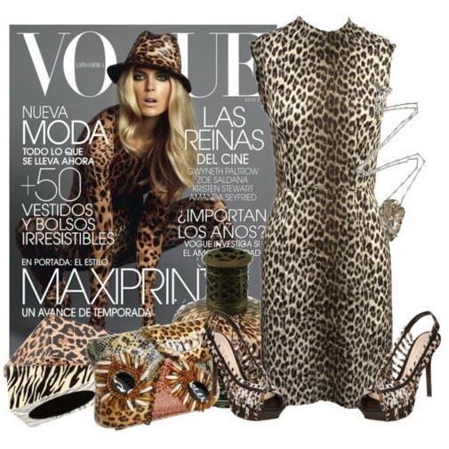 Платье леопардовый рисунок