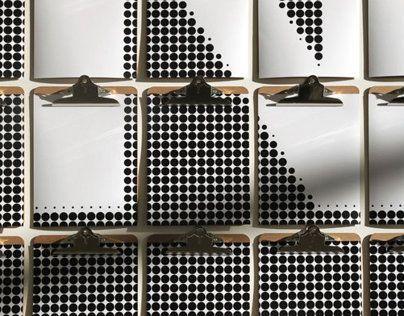 Maison Corbeil / Clipboard Installation