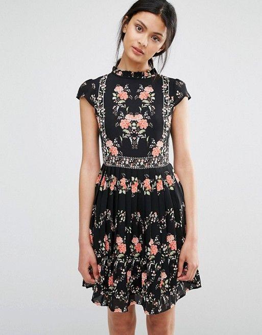 Oasis | Oasis Floral Print Tea Dress