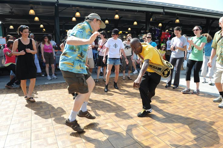 There's a whole lot of music going on, but that's not all. Check out these things to do at French Quarter Fest, from dancing the jitterbug to chowing down.