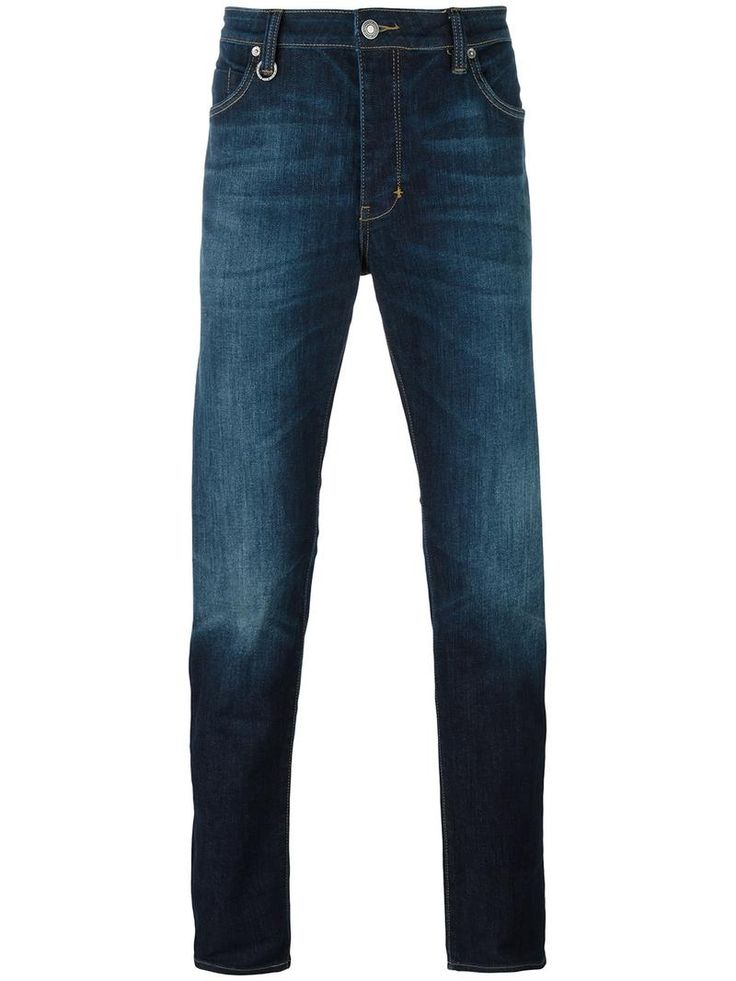 Neuw 'Lou' slim fit jeans, Men's, Size: 34/32, Blue
