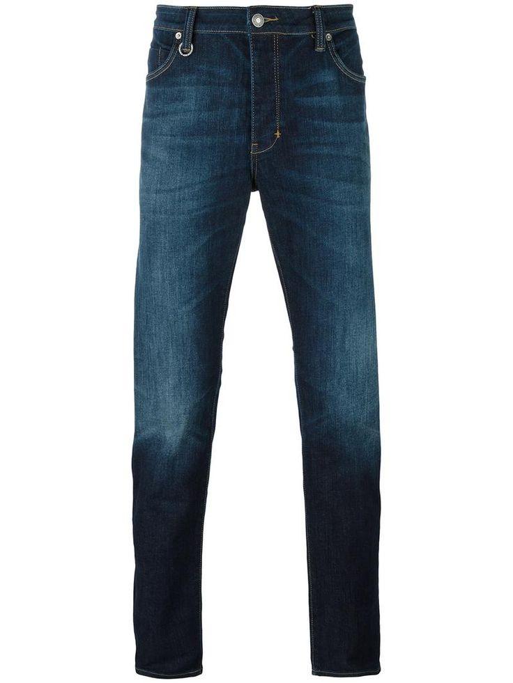 Neuw 'Lou' slim fit jeans, Men's, Size: 34/32, Blue