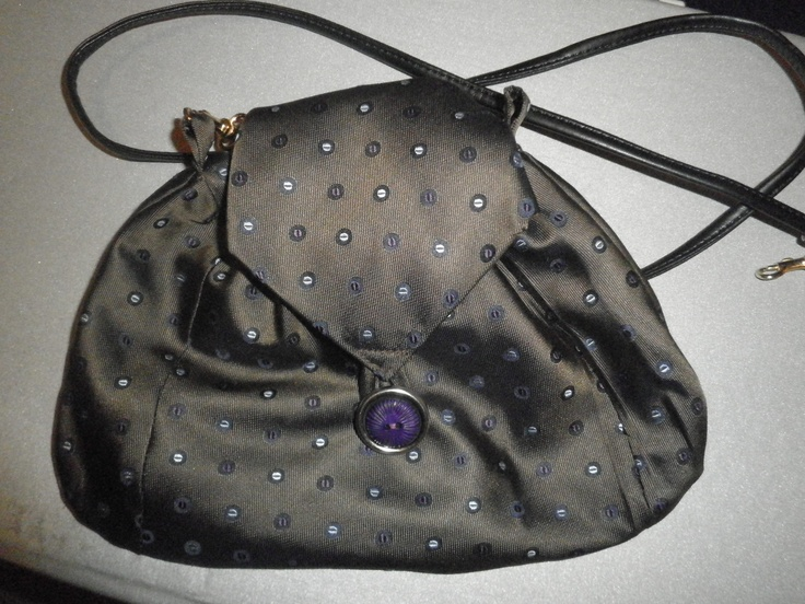 before: tie  now: evening bag