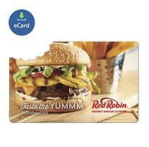 Red Robin $50 eGift Card (Email Delivery)