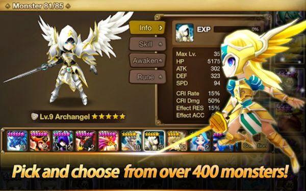 Summoners War: Sky Arena 1.1.9 APK - http://apk.blueicegame.com/summoners-war-sky-arena-1-1-9-apk/